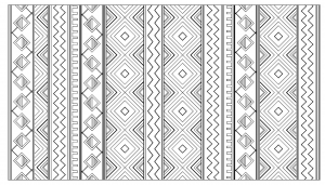 coloring-adult-inca-aztec-mayan-pattern free to print