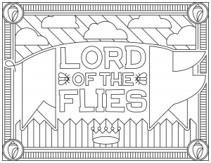 coloring-adult-Lord-of-the-Flies free to print