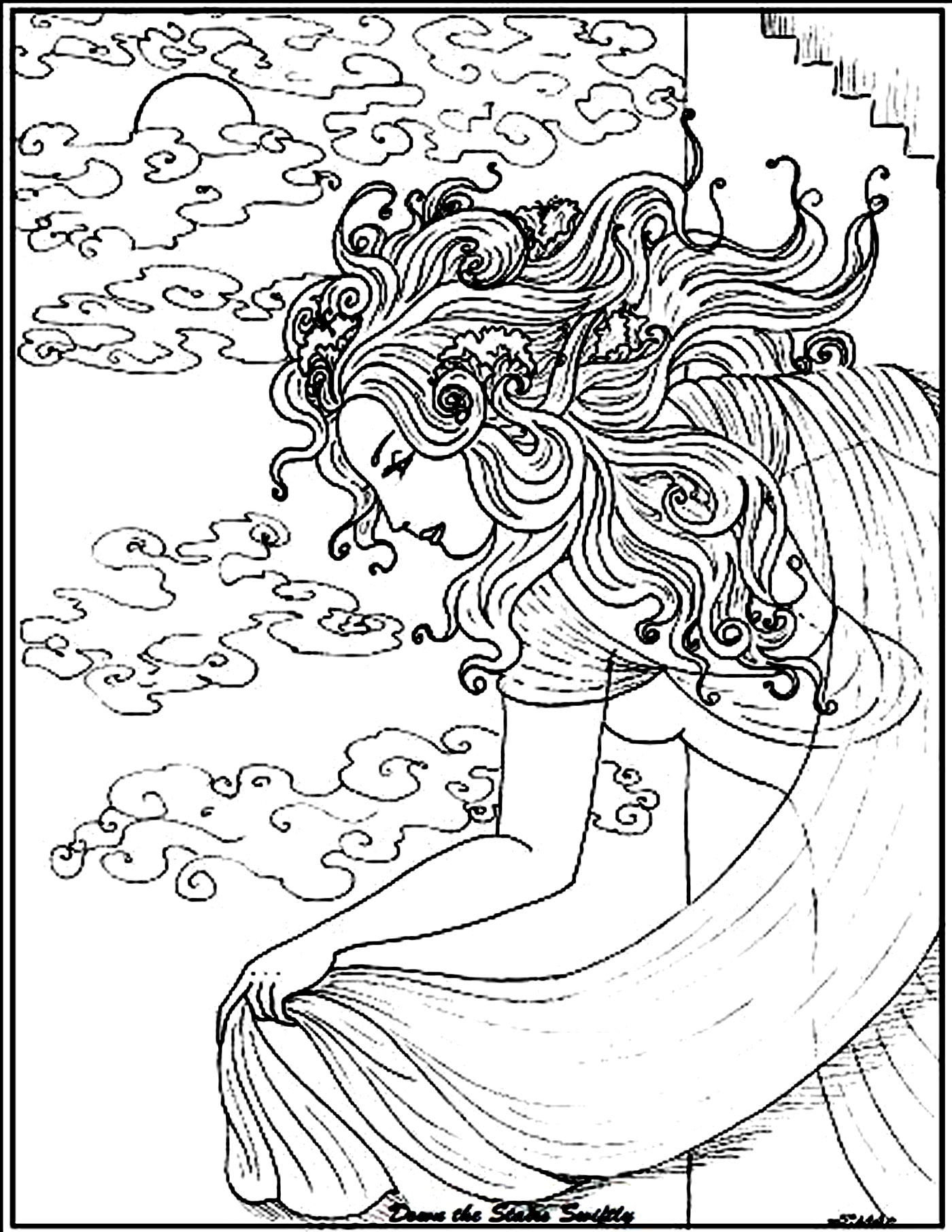menadult coloring book pages - photo#22