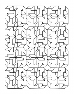 coloring-op-art-jean-larcher-8 free to print