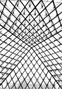 coloring-adult-pyramide-louvre free to print