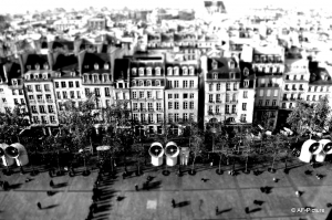 coloring-photo-paris-immeubles free to print