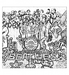 coloring-the-beatles-sgt-peppers-lonely-hearts-club-band free to print