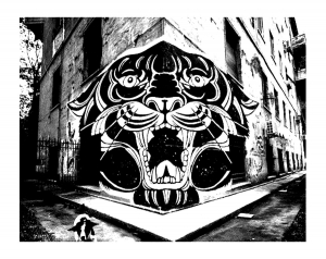 Graffiti And Street Art Coloring Pages For Adults