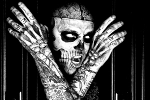 coloriage-rick-genest-zombie free to print