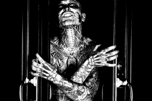coloring-rick-genest-scary free to print