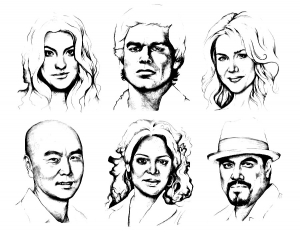 coloring-adult-dexter-personnages-by_olechka01 free to print