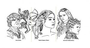 coloring-adult-game-of-thrones-dessin free to print