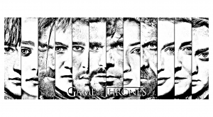 coloring-adult-game-of-thrones-visages free to print