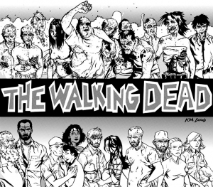 coloring-adult-the-walking-dead-by-kyleiam free to print