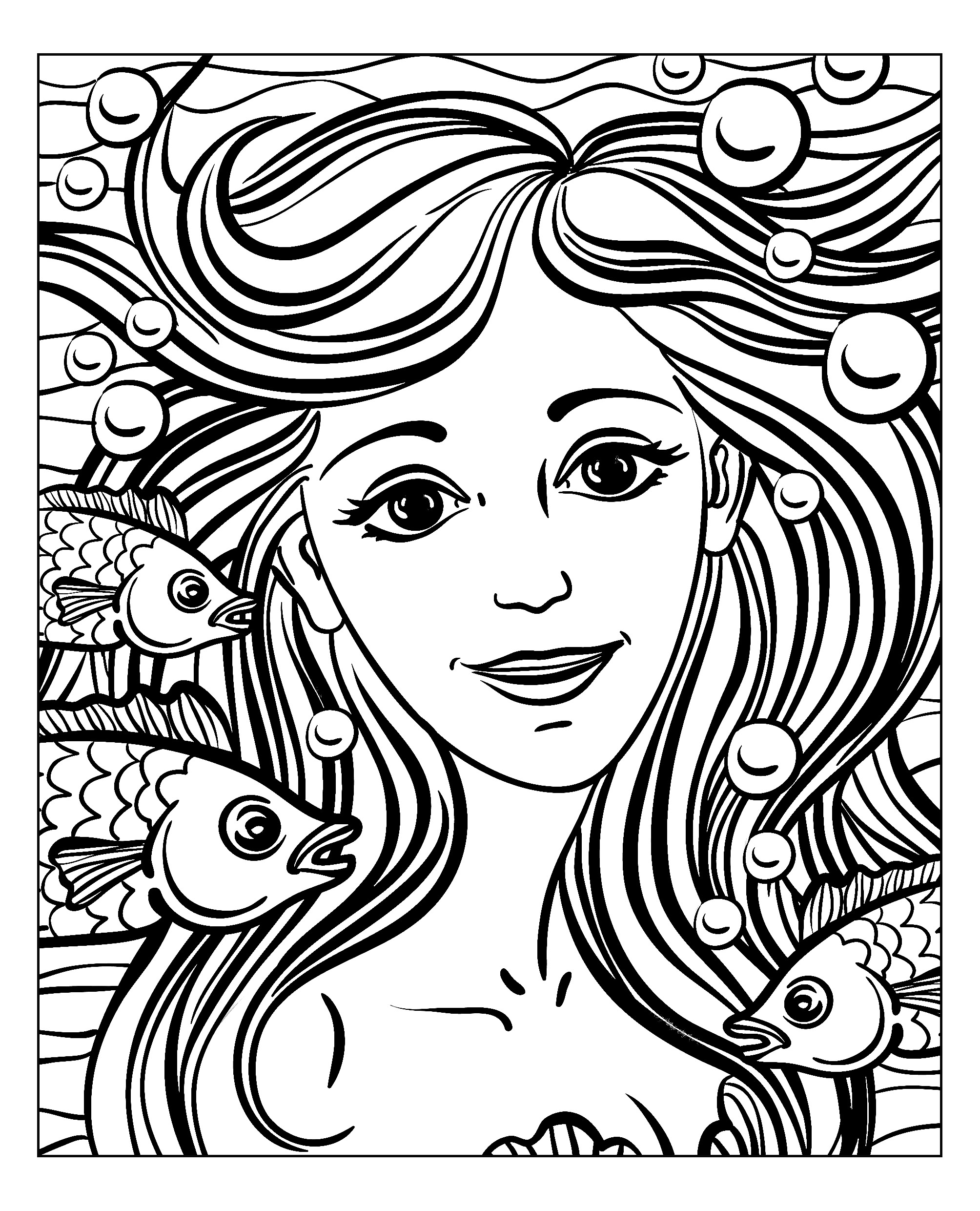 face coloring pages adults - photo#26