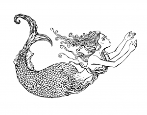 coloring-adult-swimming-mermaid-by-lian2011 free to print