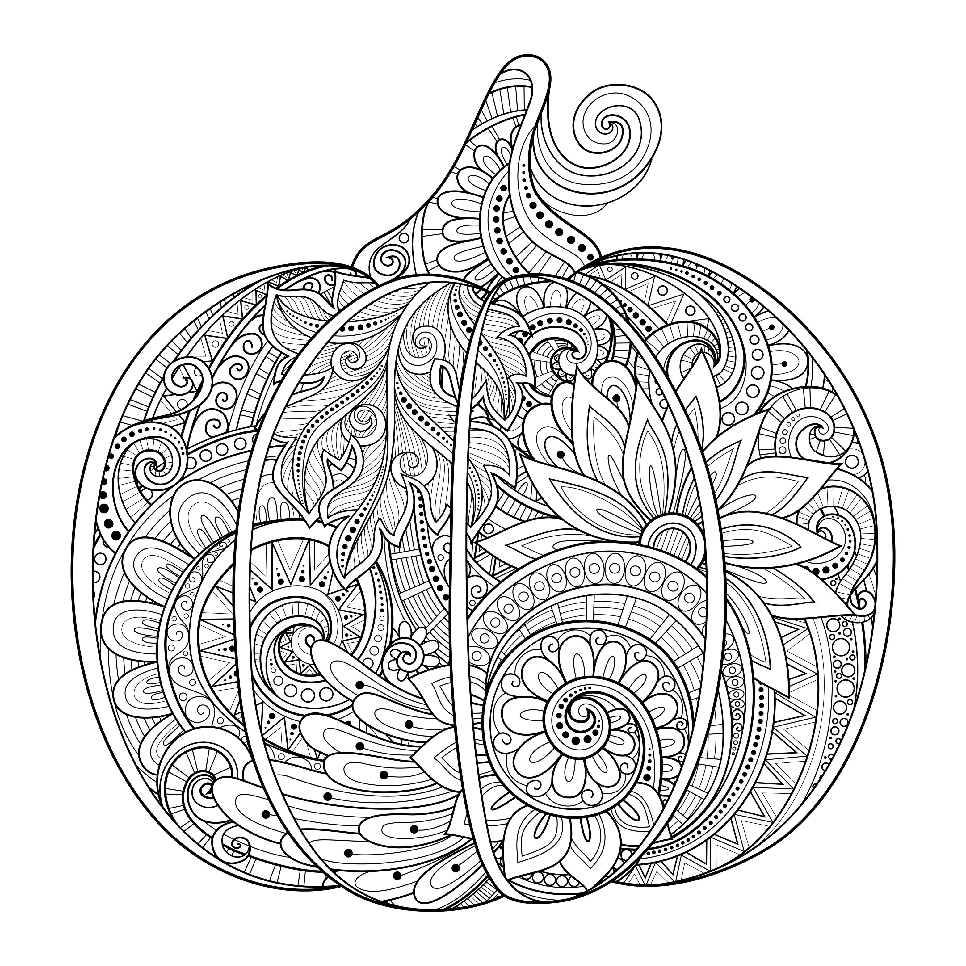 zentangle coloring pages for adults - photo#47